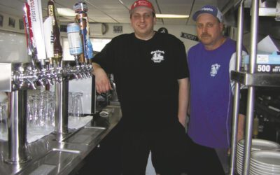 Heeter's Drive-In selling beer on tap, to go